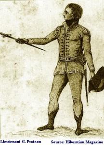 Le lieutenant Proteau