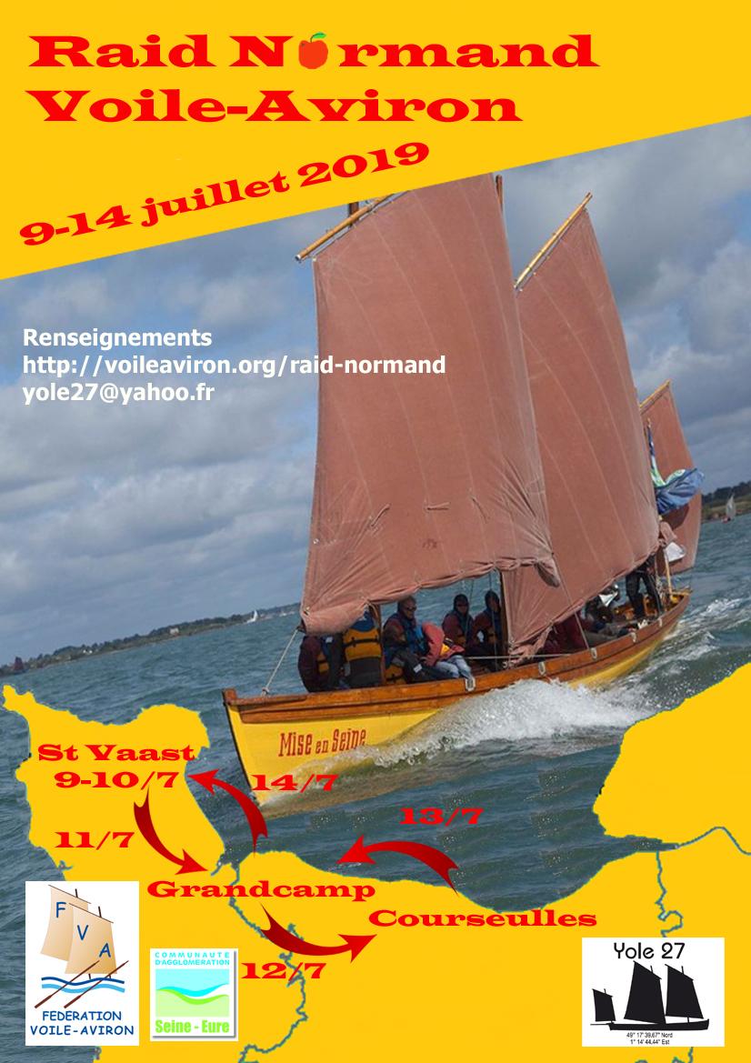 Raid Normand Voile-Aviron