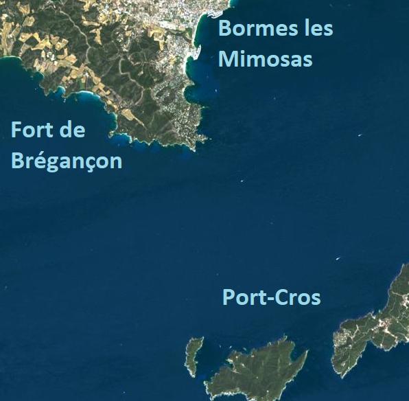 Topo 17 – Tour du cap Bénat / Port-Cros
