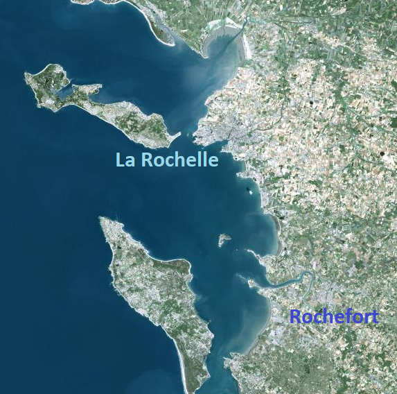 Topo 19 – Rochefort – La Rochelle