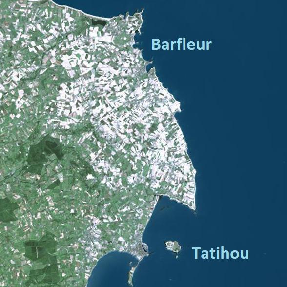 Topo 44 – Barfleur – Tatihou
