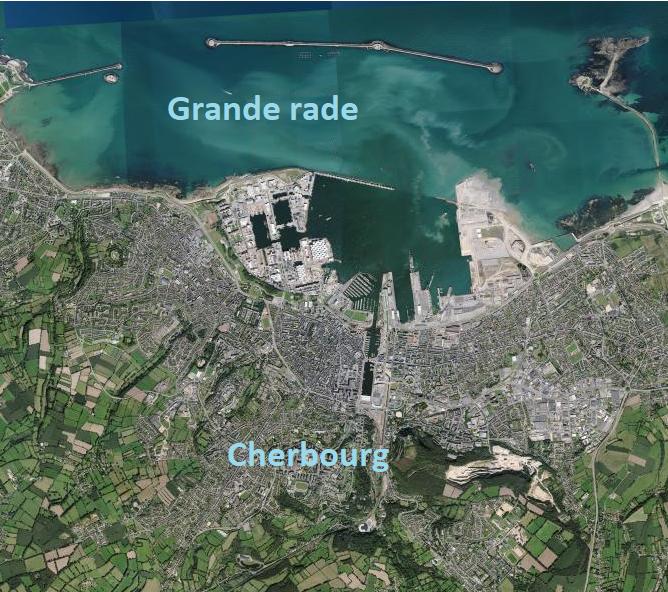 Topo 23 – Grande rade de Cherbourg – Les forts