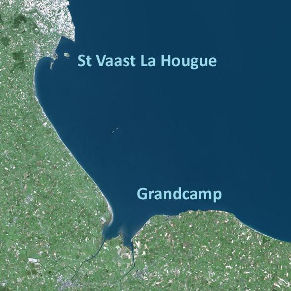 Topo 47 – St Vaast La Hougue / Grandcamp-Maisy