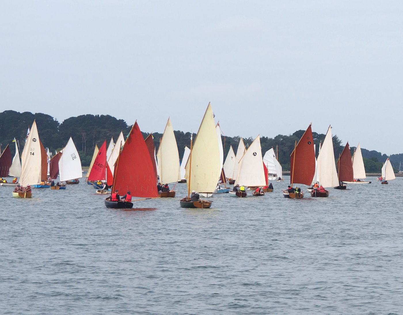 Les gréements pour voile-aviron