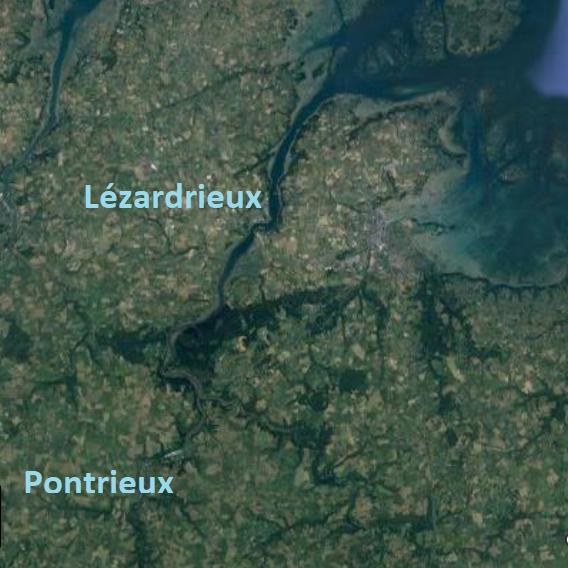 Topo 51 : Le Trieux de Lézardrieux à Pontrieux